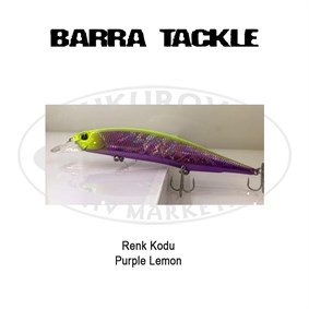 Barra Tackle 135 F 18 Gr Purple Lemon